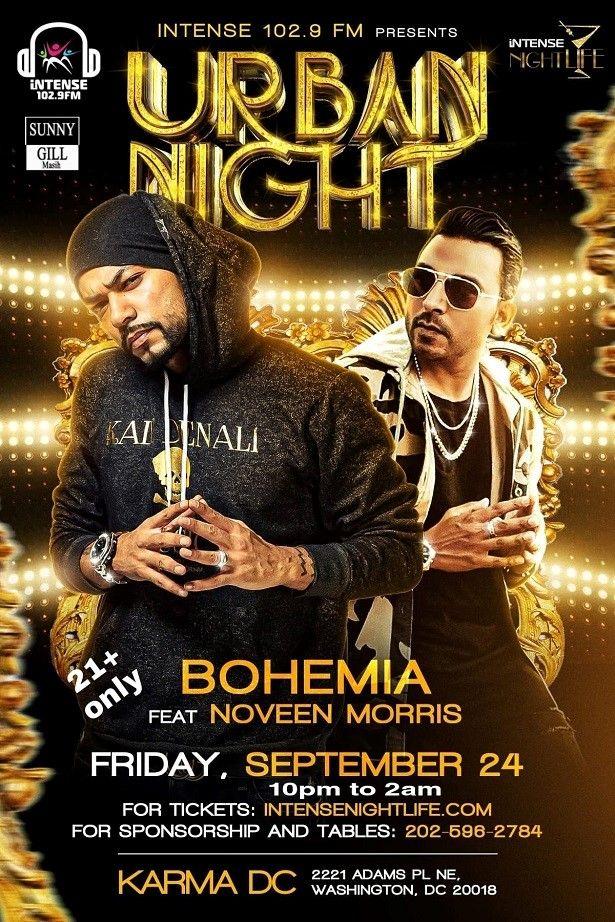 Bohemia Live in Concert