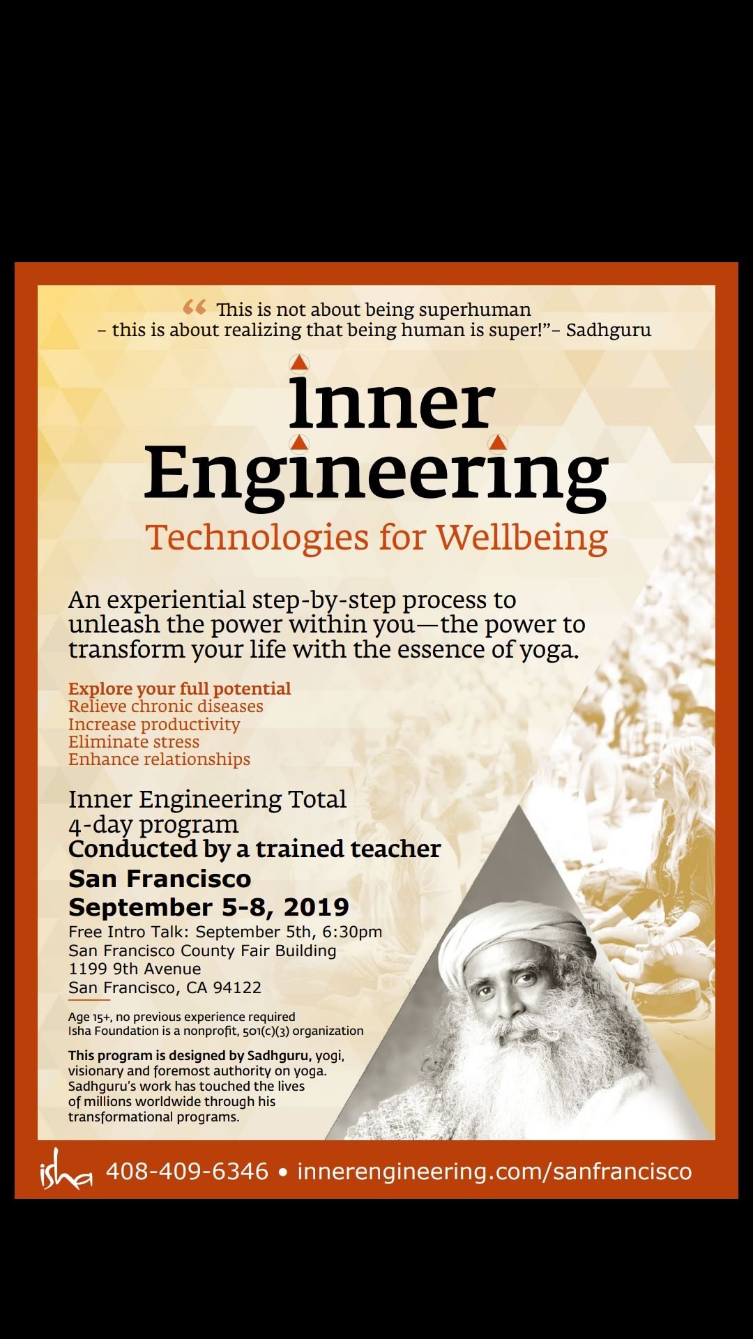 Inner Engineering Total - Find Health, Peace, and Joy from