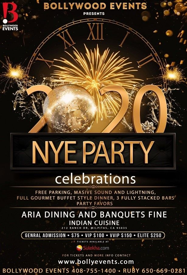 2020 New Year Eve Party