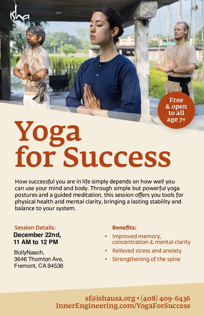 Yoga For Success