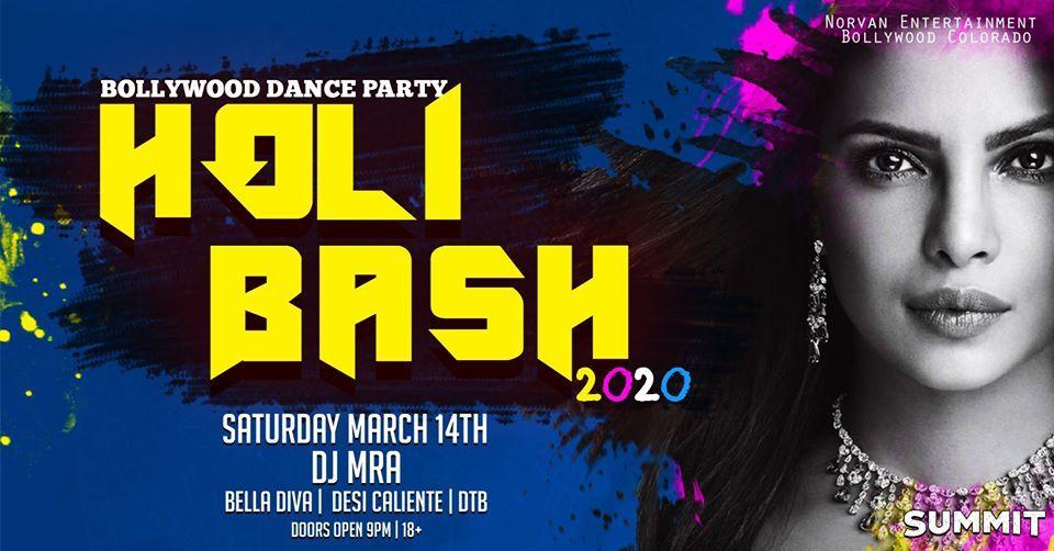 Bollywood Dance Party - Holi Bash 2020