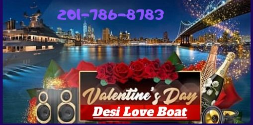 Valentine Party on the Cruise : Desi Love Boat