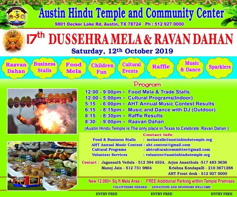 Dussehra mela and Ravan Dahan