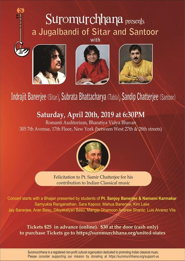 Indian Classical Music Concert in Romanti Auditorium