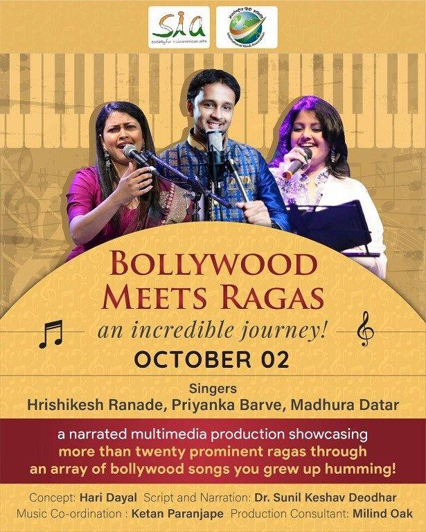 Bollywood Meets Ragas Virtual Concert