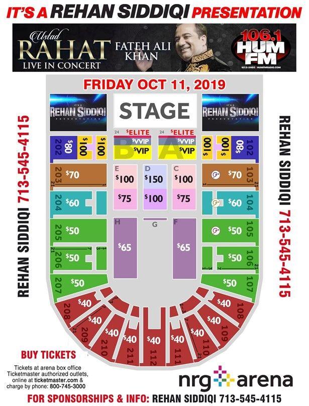 Rahat Fateh Ali Khan Live In Concert - Houston