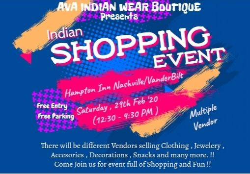 Indian shopping mela/event