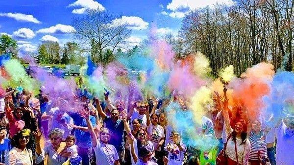 The 4th Annual Festival of colors - Holi