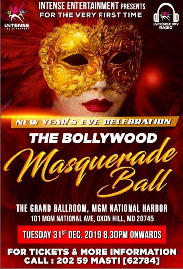NYE Bollywood Masquerade Ball