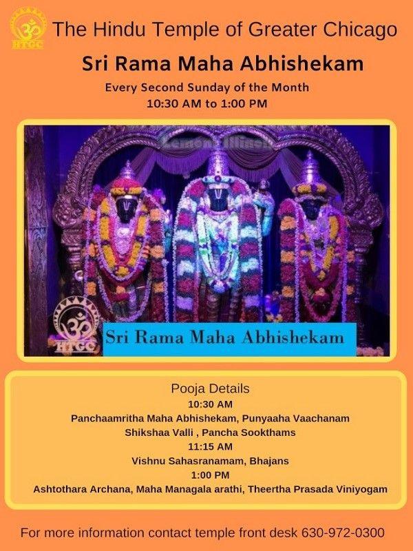 Sri Rama Maha Abhishekam