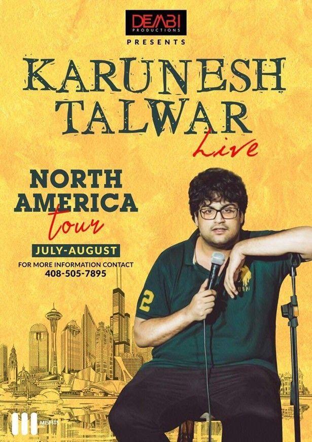 Karunesh Talwar Live Stand Up Comedy - San Diego