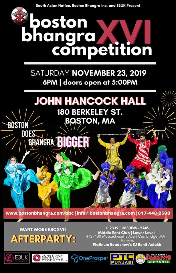 Boston Bhangra XVI Competition