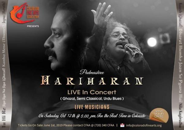 Hariharan Concert