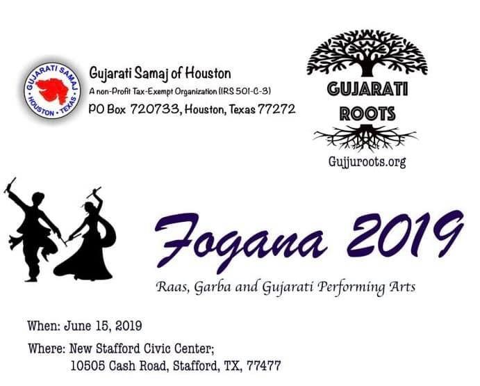 FOGANA 2019 Raas, Garba, and Folk Performing Arts Competition