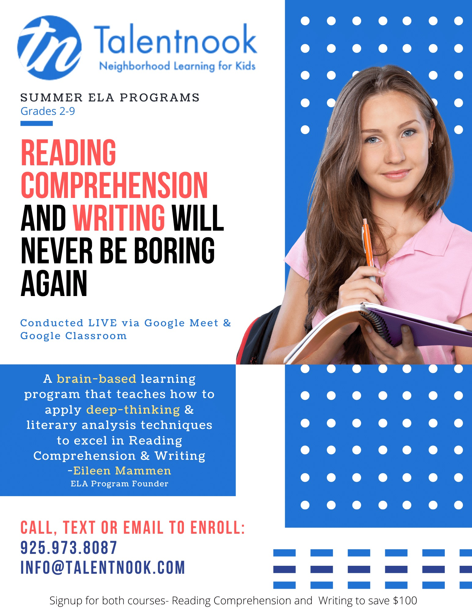Summer English program