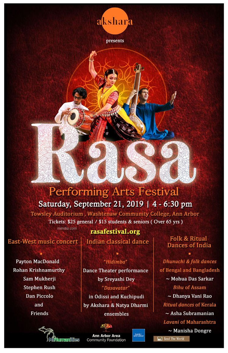 RASA Performing Arts Festival in Michigan