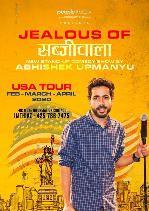 Canceled - Abhishek Upmanyu Stand-Up Comedy: Live in Detroit