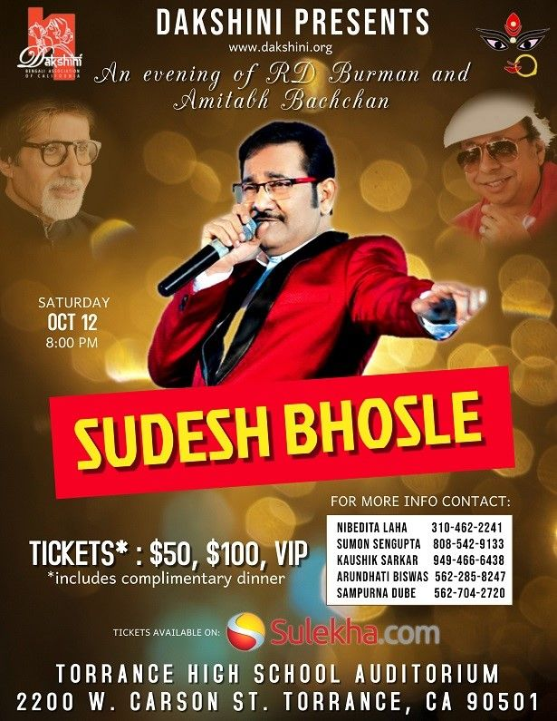 Sudesh Bhosle Live in Musical Concert