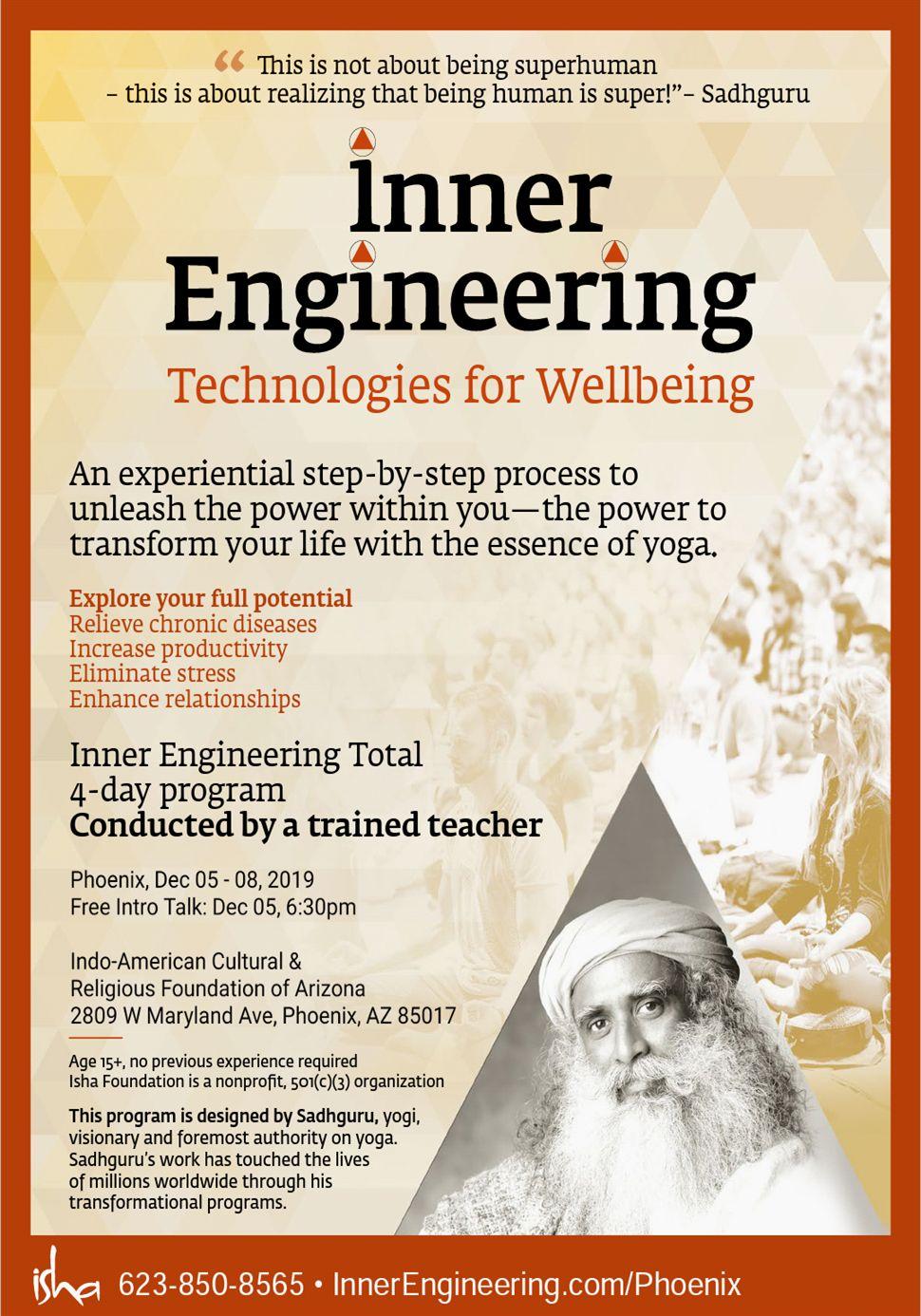 Inner Engineering by Isha Yoga