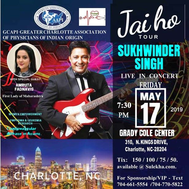 SUKHWINDER SINGH Live in NC