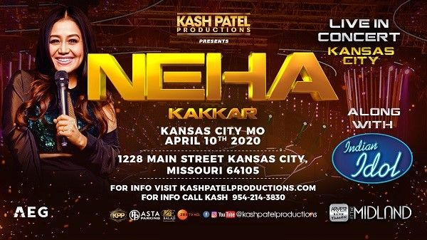 Neha Kakkar Live In Concert along with Indian Idol