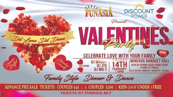 FunAsia's Valentines Party
