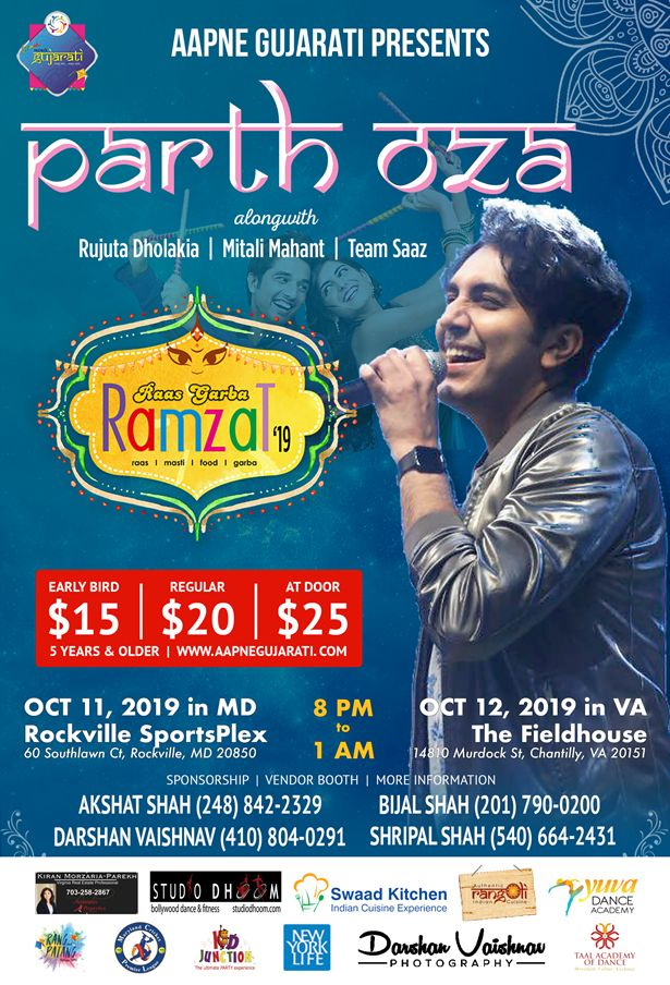 Raas Garba Ramzat with Parth Oza & Saaz Group