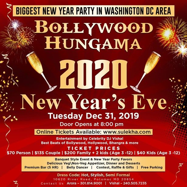 Bollywood Hungama - NYE 2020