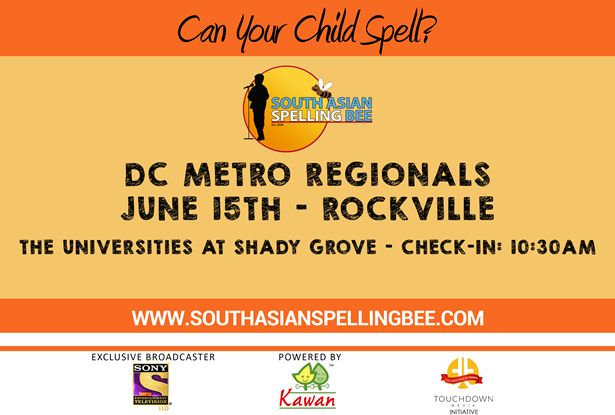 DC Metro South Asian Spelling Bee Regionals