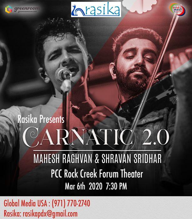 Carnatic 2.0 Fusion Musical Show - Portland