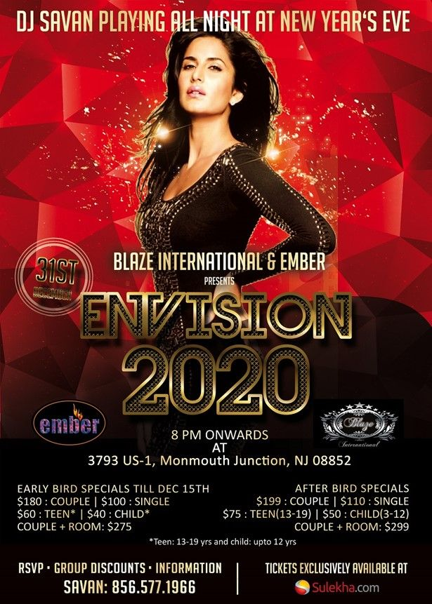 Envision New Year's Eve 2020