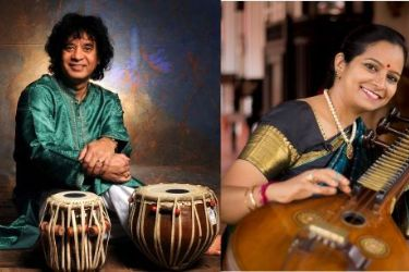 Triveni: Ustad Zakir Hussain with Jayanthi Kumaresh and Kala Ramnath