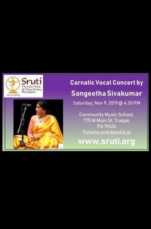 Sangeetha Sivakumar - Carnatic Music Concert