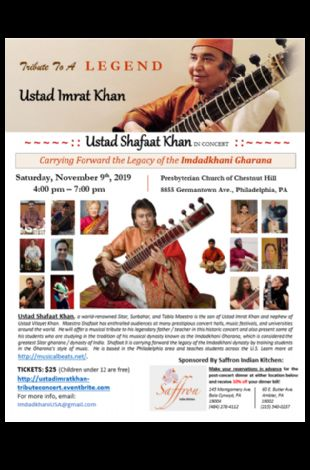 Tribute to Ustad Imrat Khan