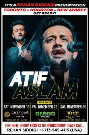 Atif Aslam Live in Concert 2019 - Houston