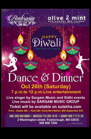 Diwali Dance & Dinner