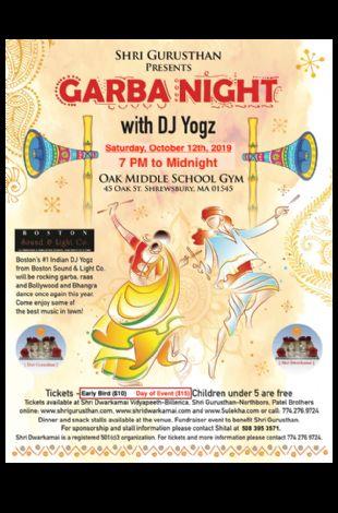 Garba Night with DJ Yogz