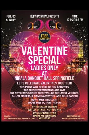 Valentines Special Ladies Special