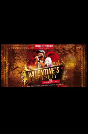 Valentine's day Party with JUBIN NAUTIYAL