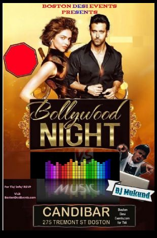 Bollywood Fridays Club Candibar w/Dj Mukund