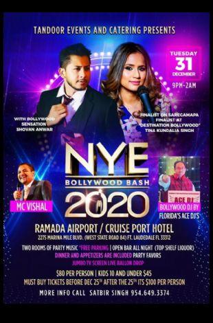 NYE Bollywood Bash 2020