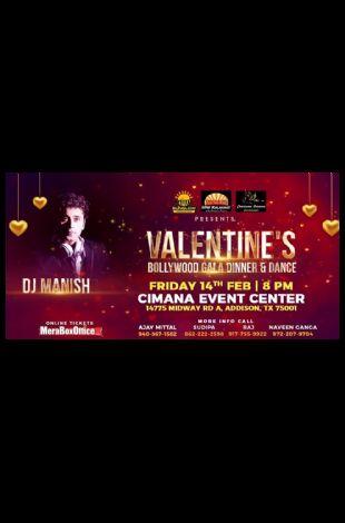 Valentines Bollywood Gala Evening - Dinner & Dance