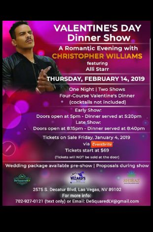 Valentine's Evening with Christopher Williams