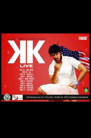 Karthik Kumar Live Stand up Comedy show San Jose