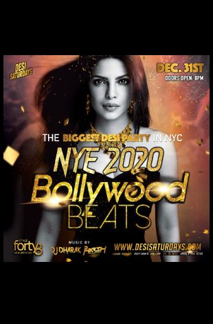 Desi New Years Gala - 15th Annual & NYC's Biggest Bollywood New Years Celebratio