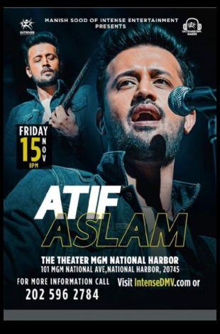 Atif Aslam Live Concert in VA