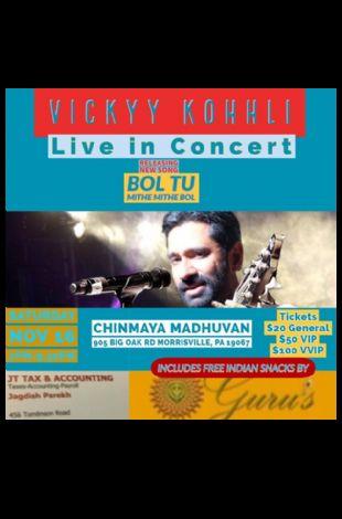 Vickyy Kohhli Live in Concert