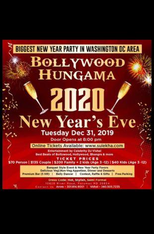 Bollywood Hungama - NYE 2020