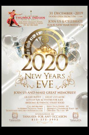 New Years Eve Bash 2020 Hoffman Estates