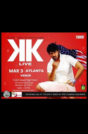 Karthik Kumar Live Stand up Comedy show Atlanta